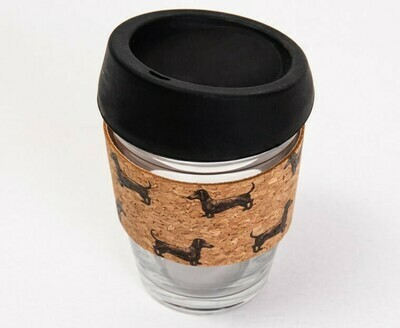 Dachshund Coffee Mug - Cork Theme