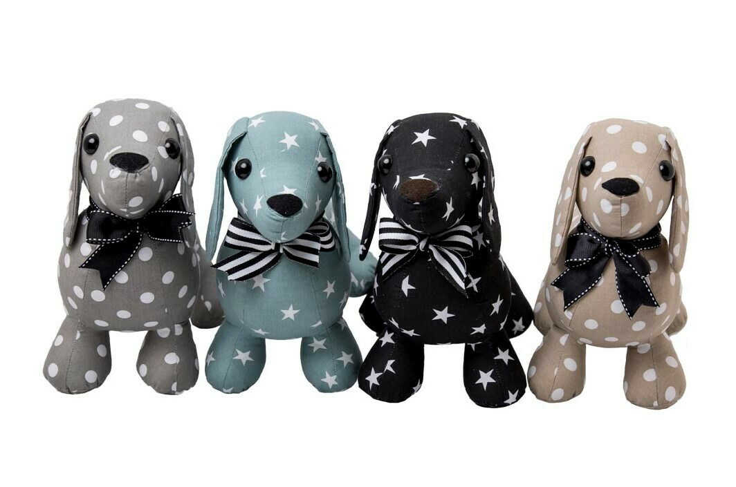 Material Dachshunds - Mixed designs & Colours