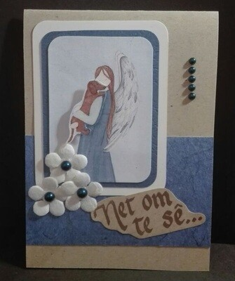 Hand Made Greeting Card - Net om te se (Afrikaans) 2