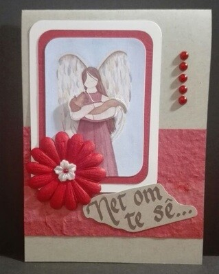 Hand Made Greeting Card - Net om te se (Afrikaans) 3
