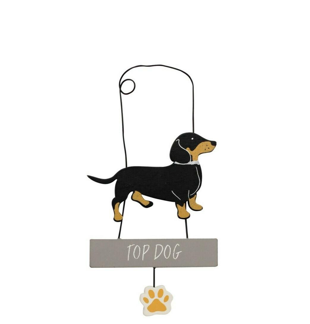Wooden Hanger (Top Dog)