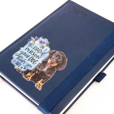 Diary 1 - Navy Blue