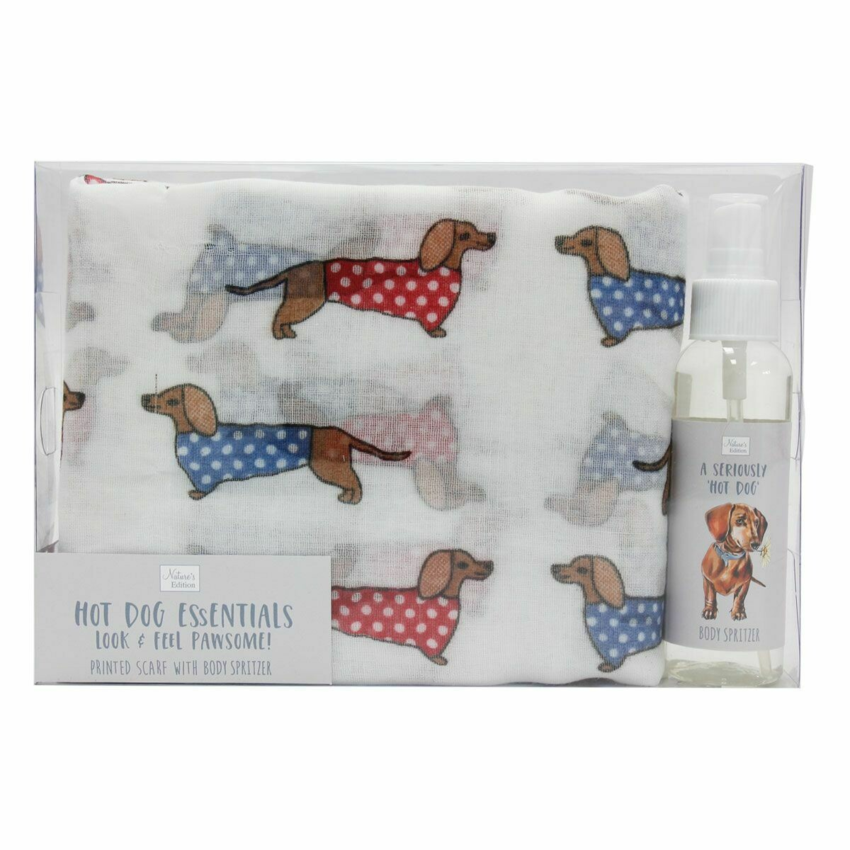 Dachshund Body Spritzer And Scarf