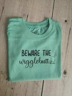 Boys T-Shirt - Beware the Wigglebutt 2