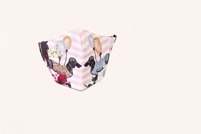 Spring Dachshund Mask - Small - Kids