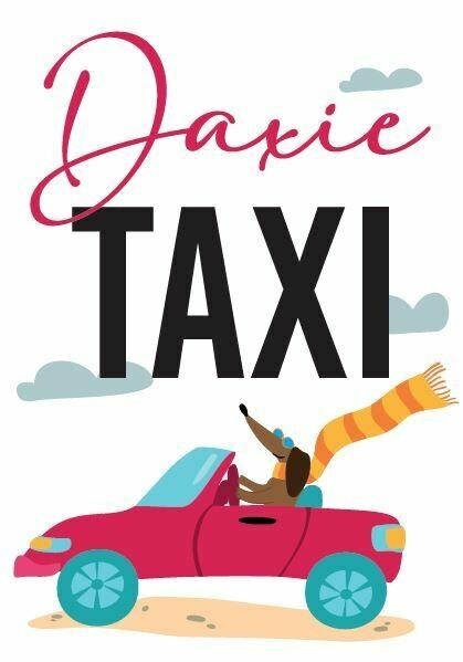 Full colour Car sticker - Daxi Taxi