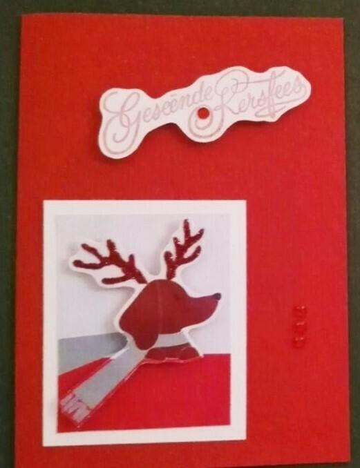 Handmade Card - Geseende Kersfees 3