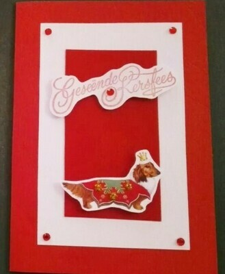 Handmade Card - Geseende Kersfees 2