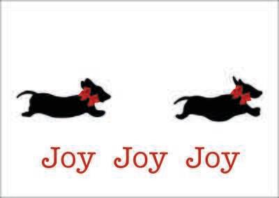 Christmas Card - Joy Joy Joy