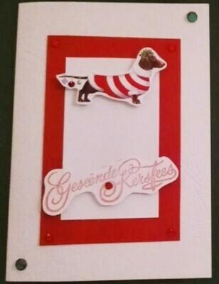 Handmade Card - Geseende Kersfees 5