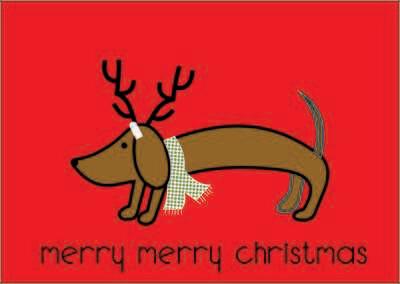 Christmas Card - Merry Merry Christmas