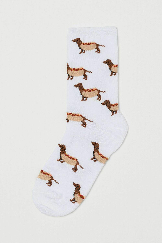 Dachshund Hot Dog Socks