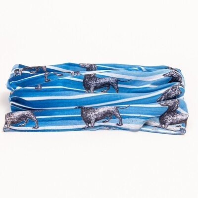 Blue Dachshund Buff - 2