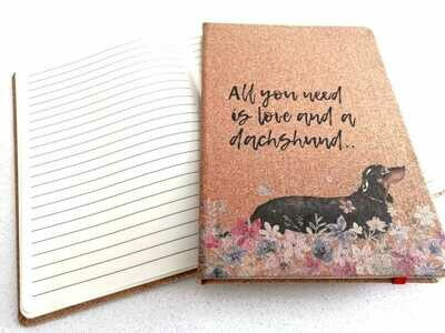 Notepad - All you need is Love and a Dachshund