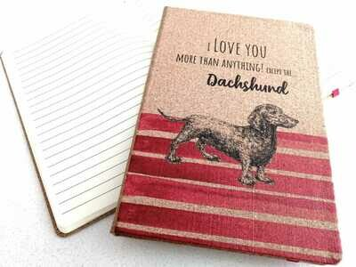 Notepad - I Love You - Red