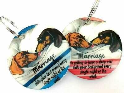 Keyrings -  Marriage