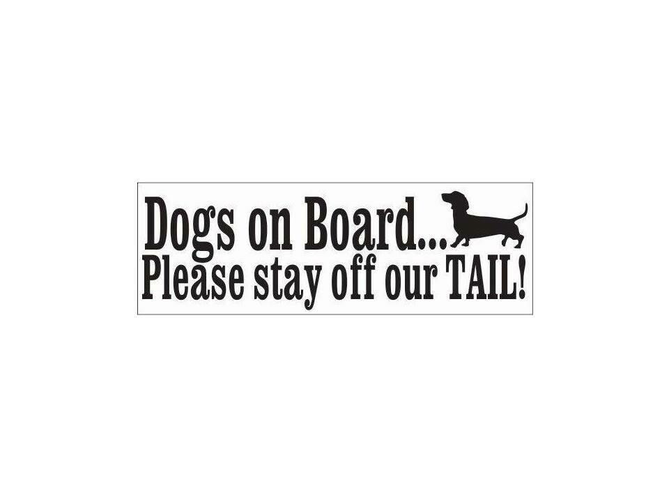 Car Sticker - Dogs on Board