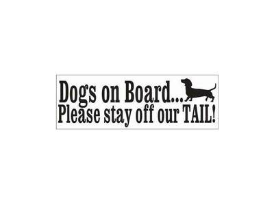 Car Sticker - Dogs on Board