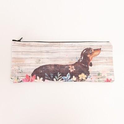 Fabric Pencil Bag - Floral