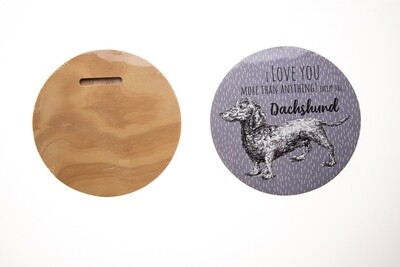 Circular Quote Board - I love you more than anything...