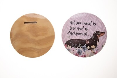 Circular Quote Board - All you need is Love