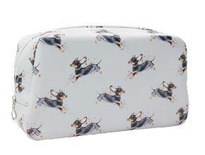 Playful Dachshund - Vanity Bag