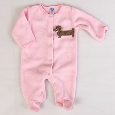 Jumpsuit - Pink - Newborn