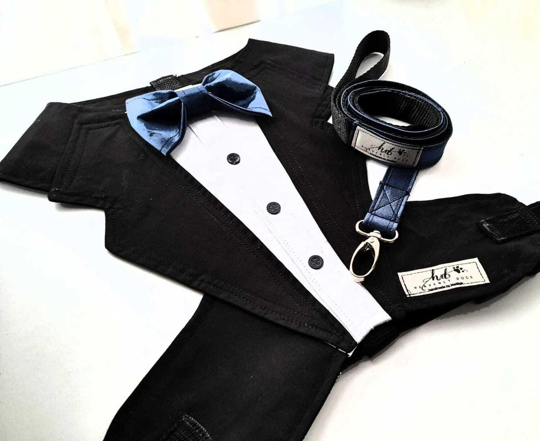 Black and White Tuxedo - Two Sizes