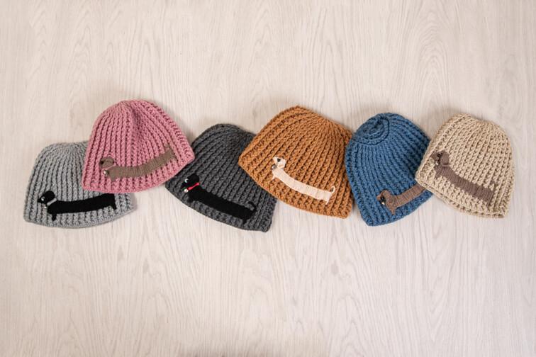 Crochet Woolen Beanies - Multiple Colours