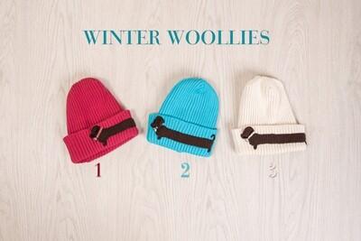Knitted Woolen Beanies - 3 Colours