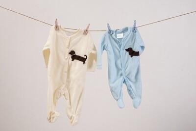 Jumpsuit - Cream (0 - 3 months)