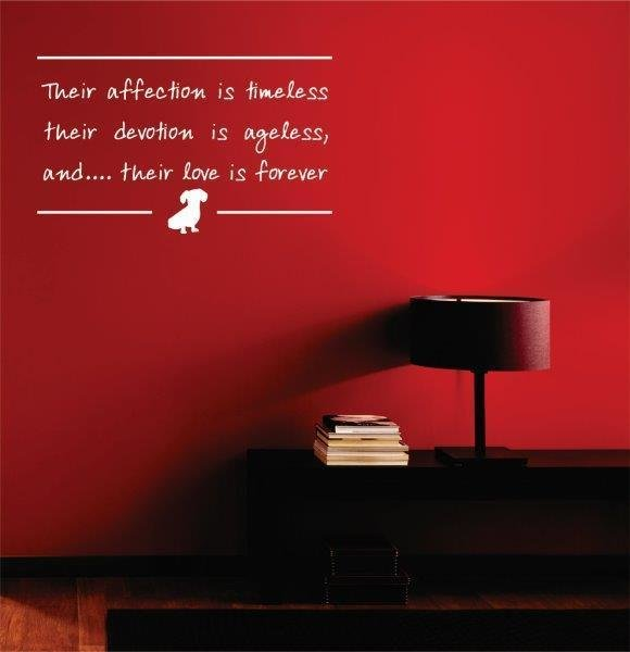 Wall Decal - Their Affection is Timeless
