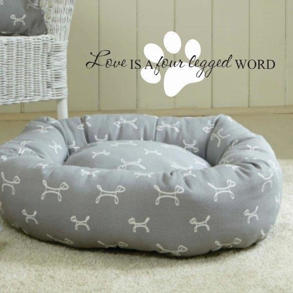 Wall Decal - For above Dogs Bed