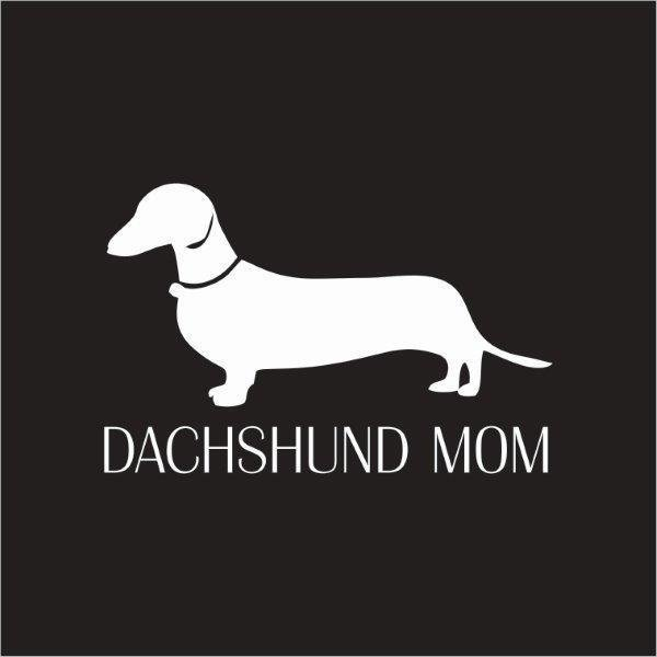 Car Sticker- Dachshund Mom