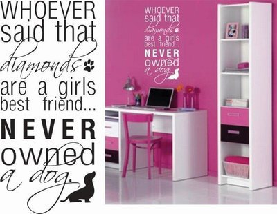 Wall Decal - Whoever Said ...