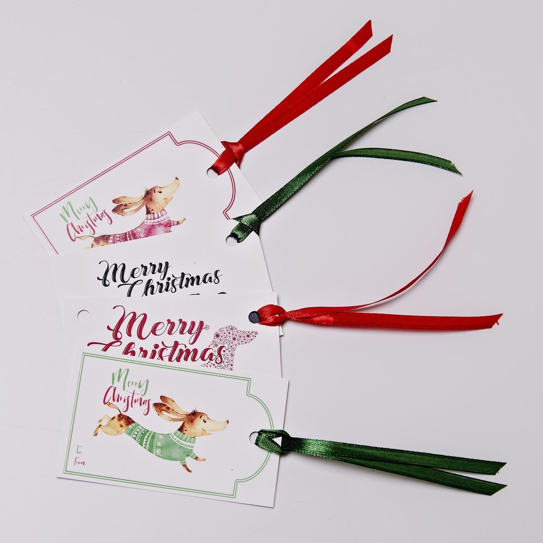 Christmas Gift Tags - Set of 20 - Mixed Selection