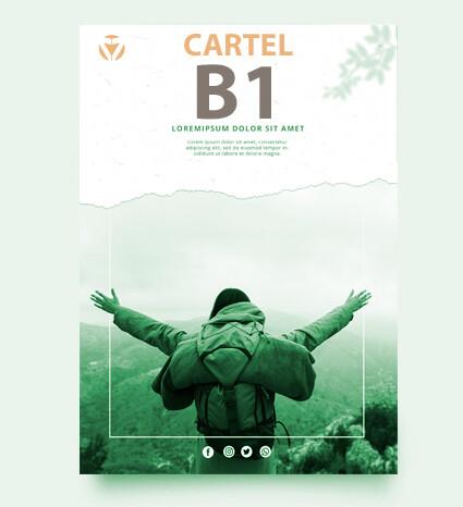Cartel DIN B1