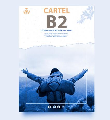 Cartel DIN B2