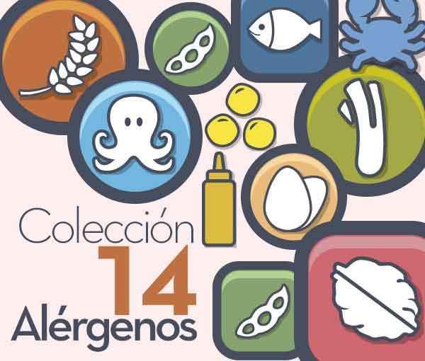 Colección Iconos Alérgenos