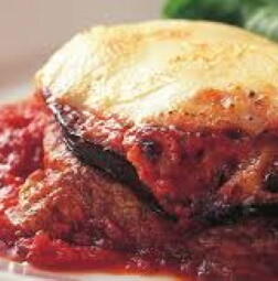 Veal And Eggplant Parmigiana