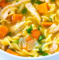 Homemade Chicken & Vegetable Soup