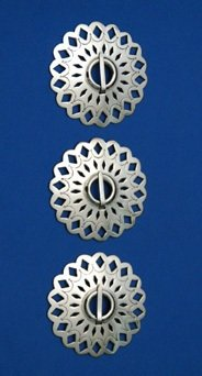Brooches: 3-Piece Set, 2 1/2