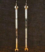 Earrings: Single Dangle, Long  6