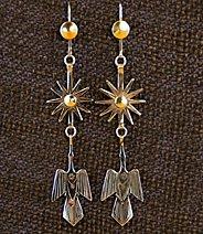 Earrings:  Starbursts & Waterbirds,  3