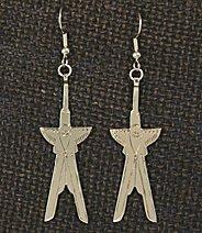 Earrings, Scissortails 1 piece,  2