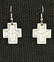 Earrings:  Southwest Crosses, Small 1