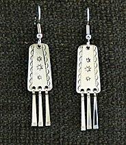 Earrings:  Traditional #1,  2