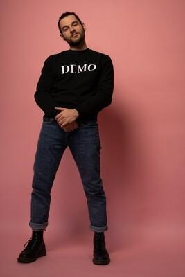 DEMO Pullover // black