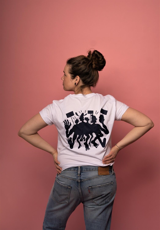 DEMO T-Shirt // white - Benedikt Luft Edition