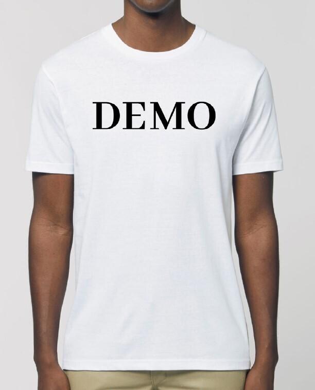 DEMO T-Shirt // white-black